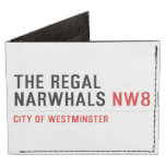 THE REGAL  NARWHALS  Wallet Tyvek® Billfold Wallet