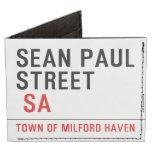 Sean paul STREET   Wallet Tyvek® Billfold Wallet