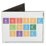 Karissa Love Oksa  Wallet Tyvek® Billfold Wallet