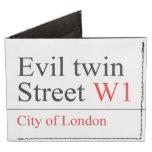 Evil twin Street  Wallet Tyvek® Billfold Wallet