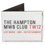 the Hampton  MWB Club  Wallet Tyvek® Billfold Wallet