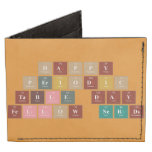 Happy  Periodic  Table Day Fellow Nerds  Wallet Tyvek® Billfold Wallet
