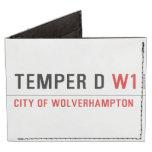 TEMPER D  Wallet Tyvek® Billfold Wallet