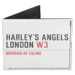 HARLEY'S ANGELS LONDON  Wallet Tyvek® Billfold Wallet