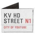 KV HD Street  Wallet Tyvek® Billfold Wallet