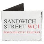 SANDWICH STREET  Wallet Tyvek® Billfold Wallet