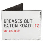 Creases Out Eaton Road  Wallet Tyvek® Billfold Wallet