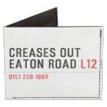 Creases Out Eaton Road  Wallet Tyvek® Billfold Wallet