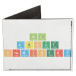 All About  Chemistry  Wallet Tyvek® Billfold Wallet