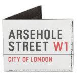 Arsehole Street  Wallet Tyvek® Billfold Wallet