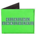 Digital Chemistry  Wallet Tyvek® Billfold Wallet