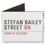 Stefan Bailey Street  Wallet Tyvek® Billfold Wallet