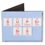 Super sis  Wallet Tyvek® Billfold Wallet