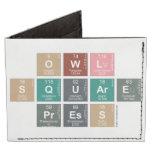 Owl Square Press  Wallet Tyvek® Billfold Wallet