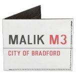 Malik  Wallet Tyvek® Billfold Wallet