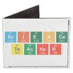 Science Teacher  Wallet Tyvek® Billfold Wallet