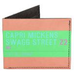 Capri Mickens  Swagg Street  Wallet Tyvek® Billfold Wallet