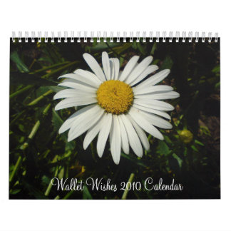 Wallet Wishes Calendar for 2010