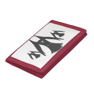 Wallets, customizable, add text trifold wallets