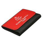 [Crown] keep calm it's bunga bunga time  Wallets (Hortizontal)