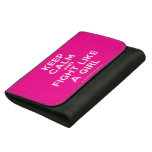 keep calm and fight like a girl  Wallets (Hortizontal)