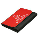 [Crown] keep calm and like all my pictures  Wallets Hortizontal