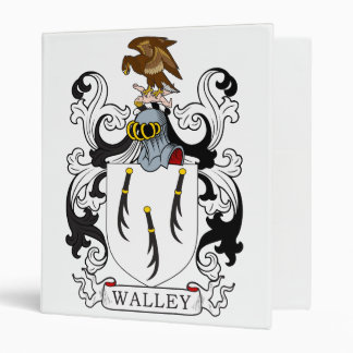 Walley Family Crest Binders