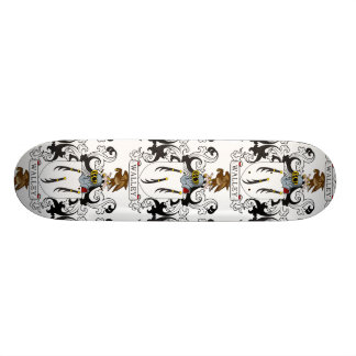 Walley Family Crest Skate Deck