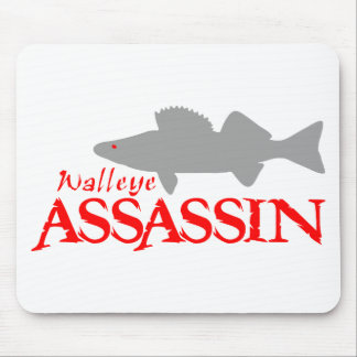 WALLEYE ASSASSIN MOUSE PAD
