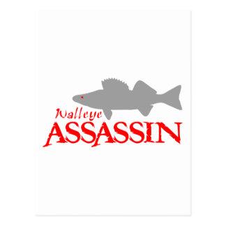 WALLEYE ASSASSIN POSTCARD