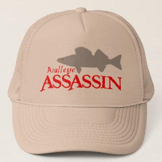 WALLEYE ASSASSIN TRUCKER HAT