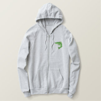 Walleye Embroidered Hoodie