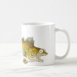 Walleye fish mug! coffee mug