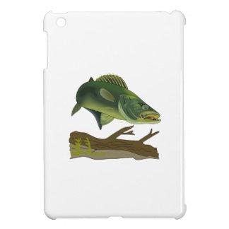 WALLEYE FISH SCENE iPad MINI COVERS