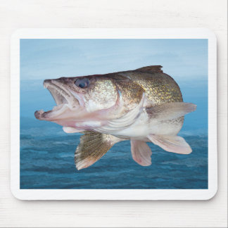 Walleye Fishing Mouse Pad