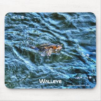Walleye Fishing Outdoor Fisherman's Sporting Art Mouse Pad