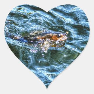 Walleye Fishing Outdoor Fisherman's Sporting Art Stickers