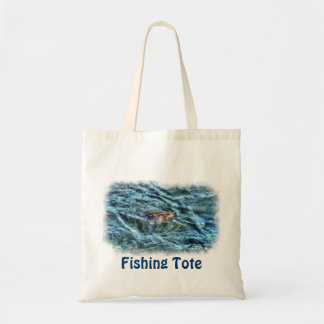 Walleye Fishing Outdoor Fisherman's Sporting Art Tote Bag