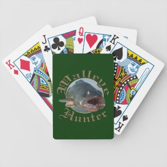 Walleye Hunter 2 Card Decks