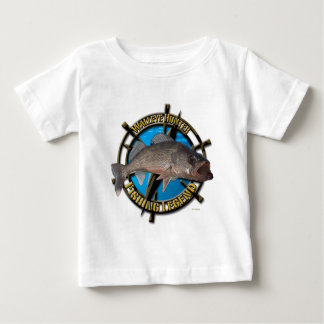 Walleye hunter baby T-Shirt