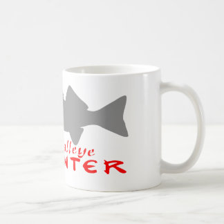 WALLEYE HUNTER COFFEE MUG