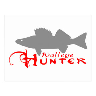 WALLEYE HUNTER POSTCARD