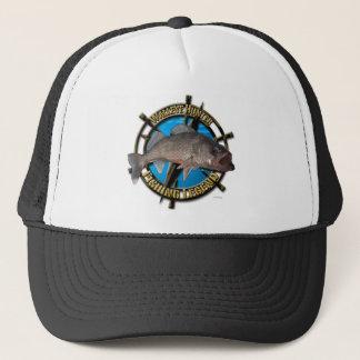 Walleye hunter trucker hat