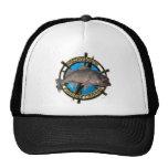 Walleye hunter trucker hats