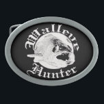 "Walleye hunter w oval belt buckle<br><div class=""desc"">Walleye hunter</div>"