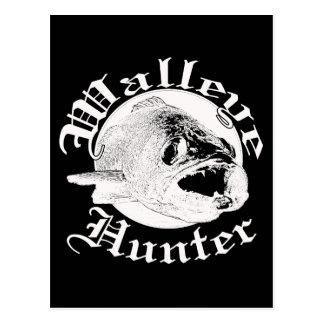Walleye hunter w postcard