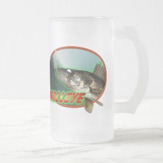 Walleye In Oval Mugs