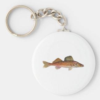 Walleye Keychain
