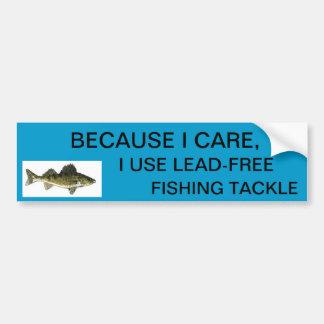 Walleye Lead-free Sticker