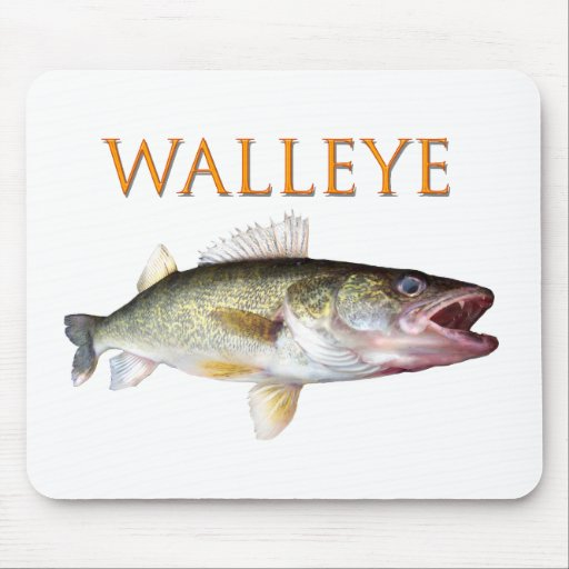 Walleye Mouse Mats